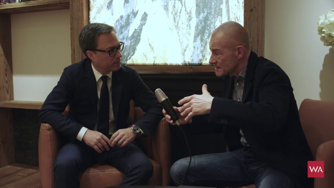 SIHH 2018: Interview with Montblanc International CEO Nicolas Baretzki