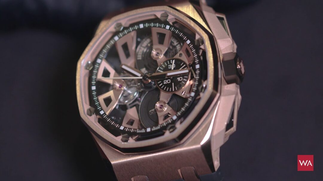 SIHH 2018: Introducing the Royal Oak Offshore Tourbillon Chronograph by Audemars Piguet
