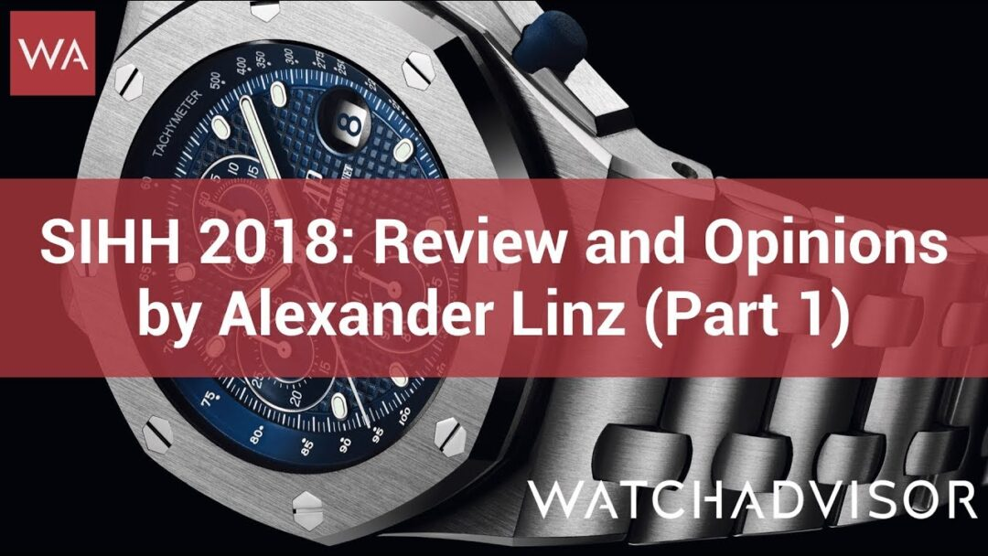 SIHH 2018: Review and Opinions by Alexander Linz (Part 1)