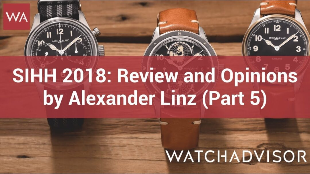 SIHH 2018: Review and Opinions by Alexander Linz (Part 5)