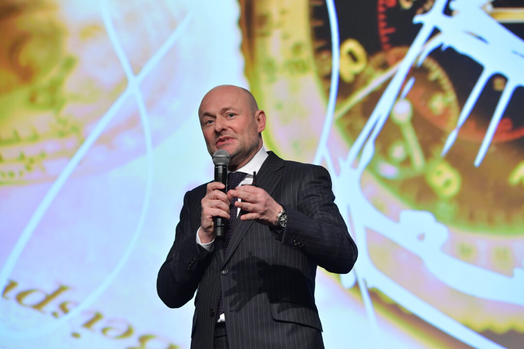The sky is the limit! Georges Kern presenting his new vision for Breitling