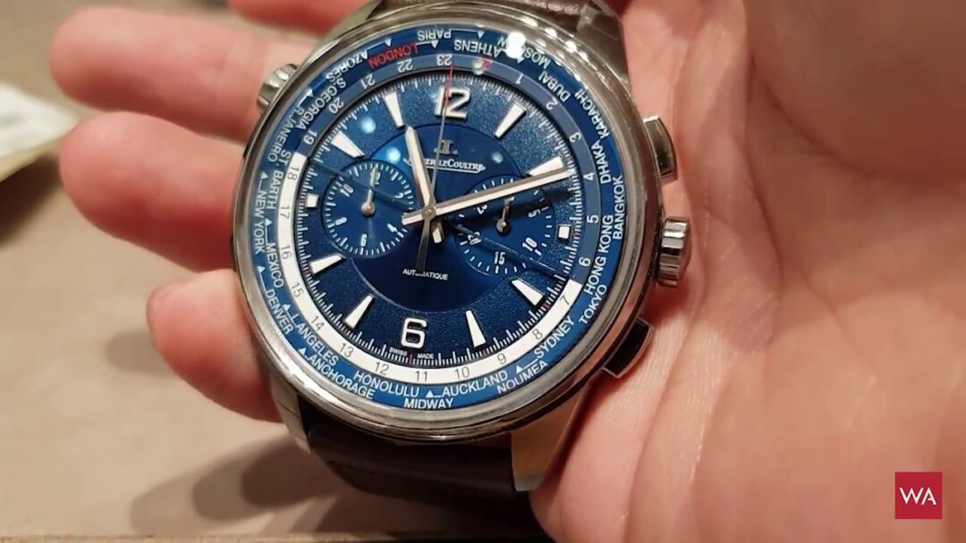 Jaeger-LeCoultre Polaris Chronograph World Time - Watch Review