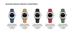 Omega Seamaster Olympic Collection Limited Edition