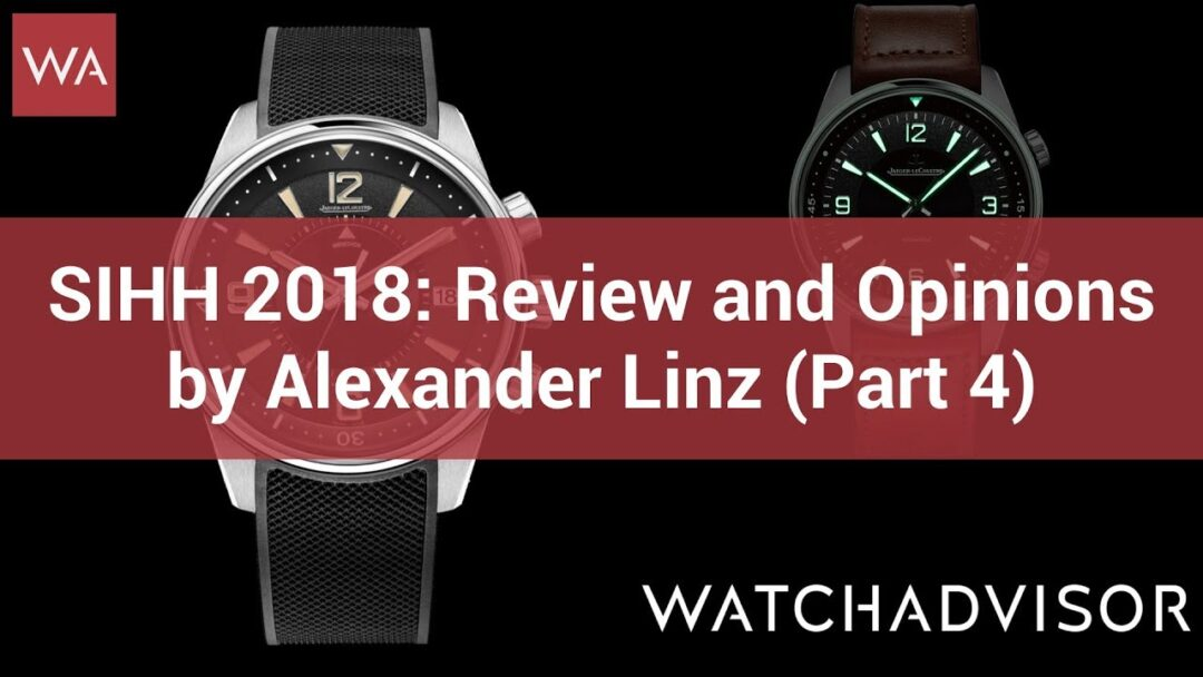 SIHH 2018: Review and Opinions by Alexander Linz (Part 4)