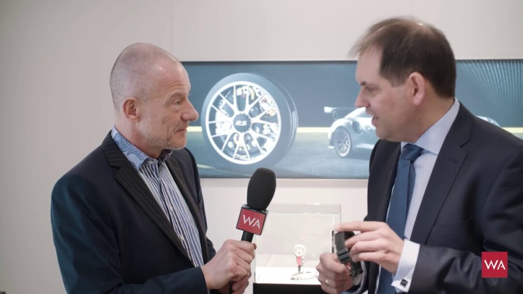 Baselworld 2018: Porsche Design Timepieces CTO Rolf Bergmann Interview