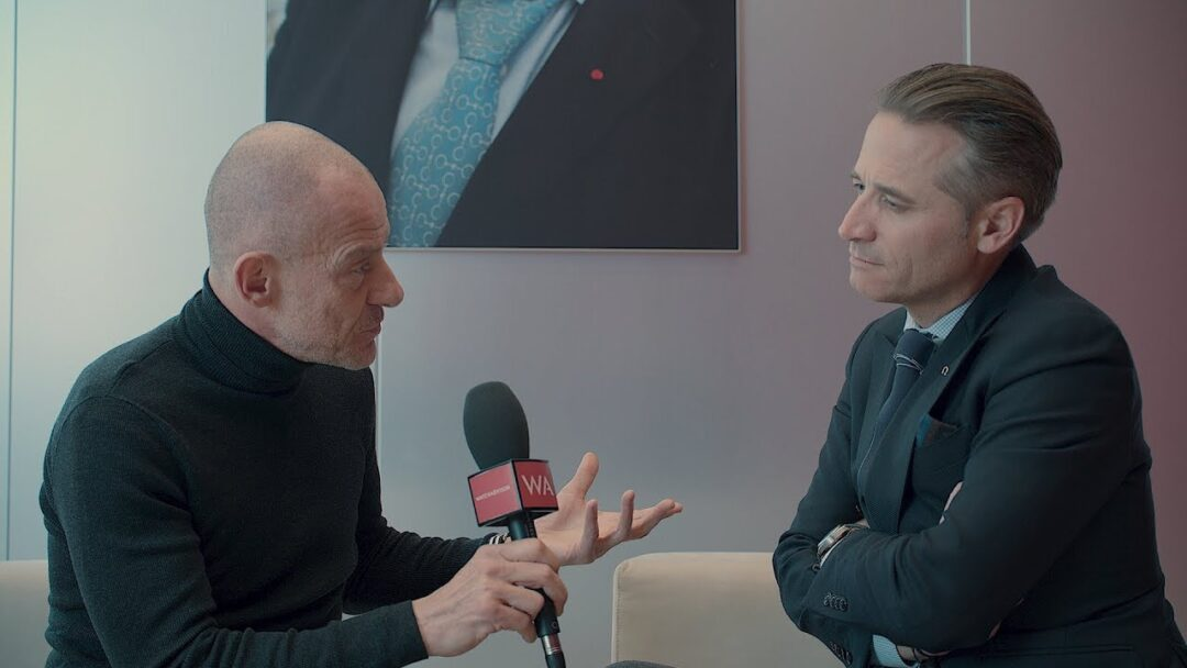Baselworld 2018: OMEGA President & CEO Raynald Aeschlimann Interview