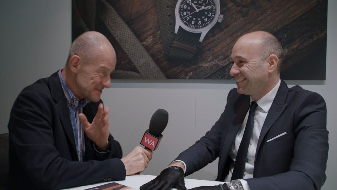 Baselworld 2018: Hamilton CEO Sylvain Dolla Interview