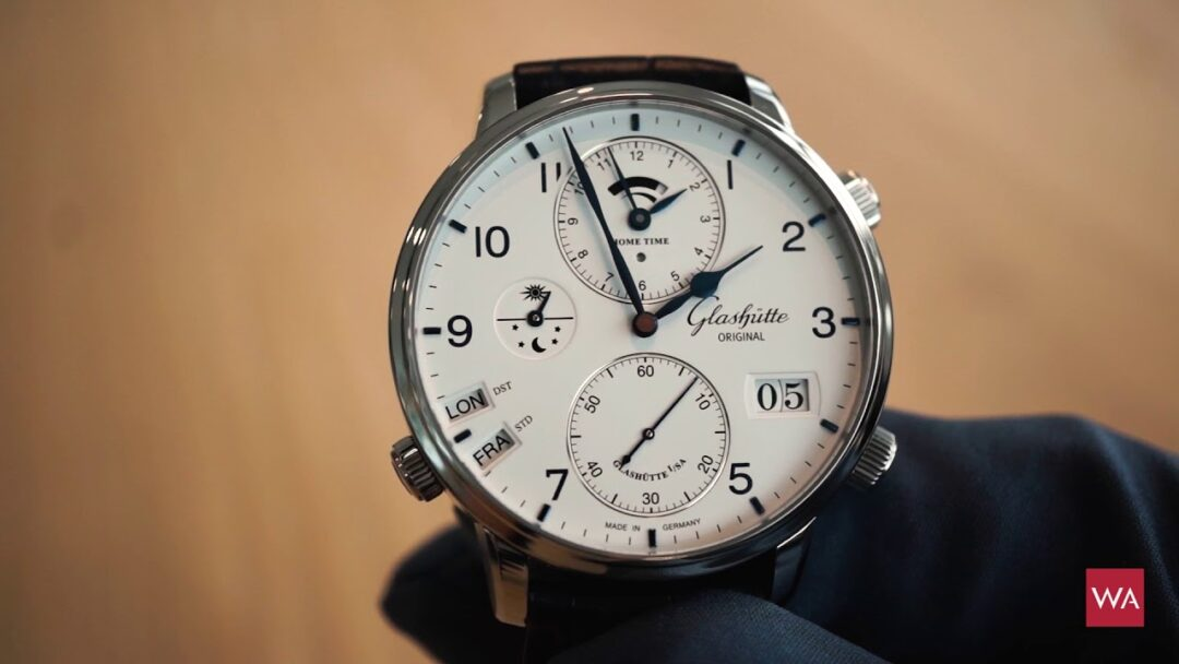Pre-Baselworld 2018: Hands on the Glashütte Original Senator Cosmopolite in Stainless Steel