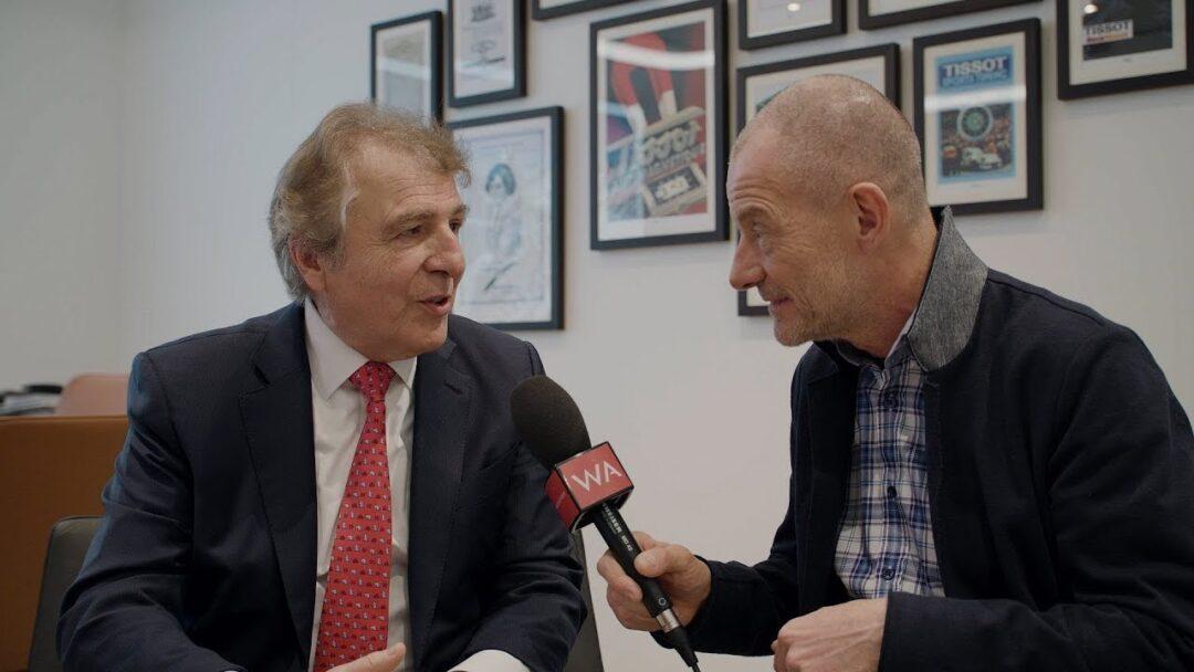 Baselworld 2018: Tissot President François Thiébaud Interview
