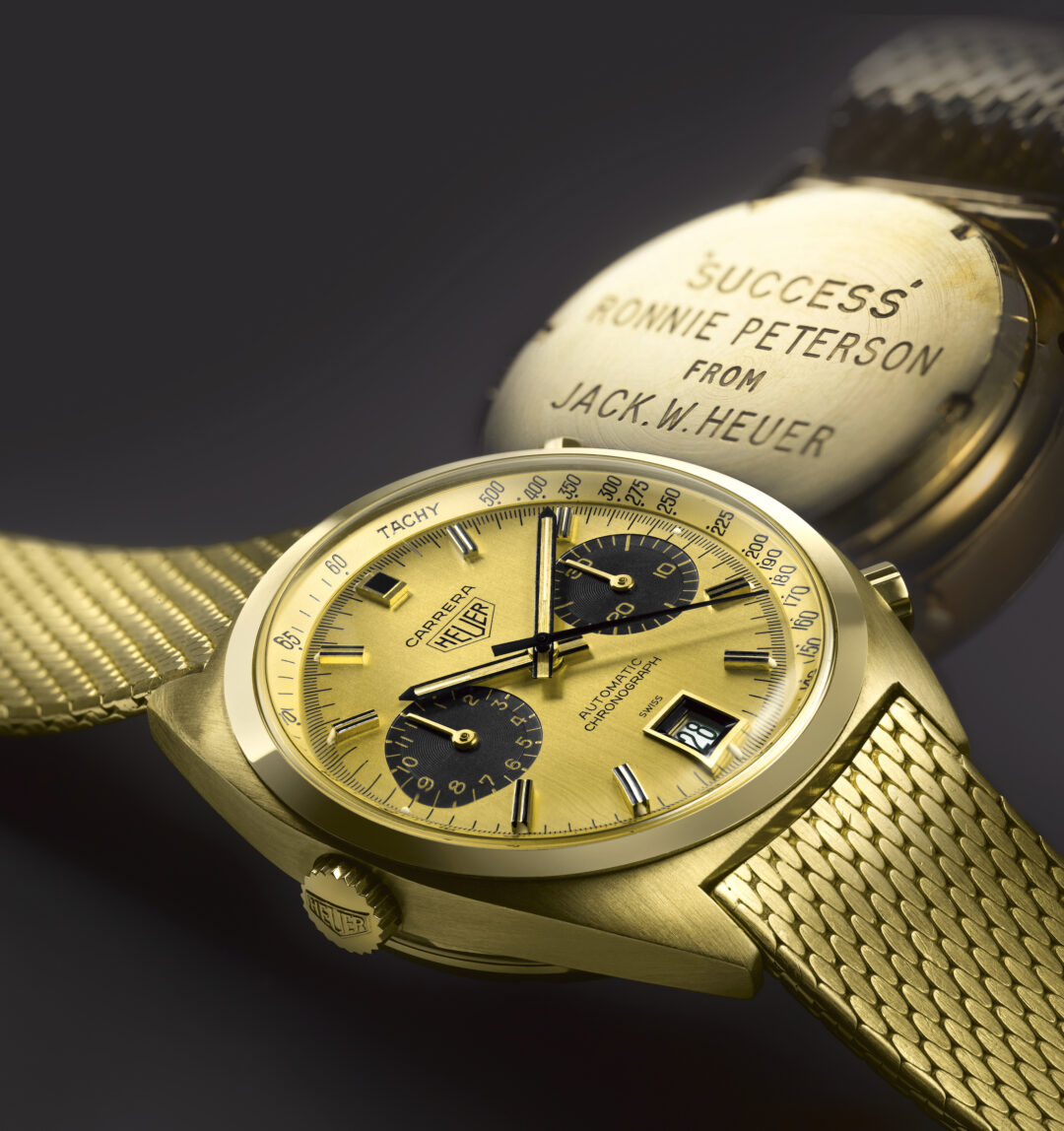 The original 'Heuer Carrera' was sold at auction in May 2016, for a breaking price of 225'000 CHF. Peterson's Heuer is now owned by the TAG Heuer museum