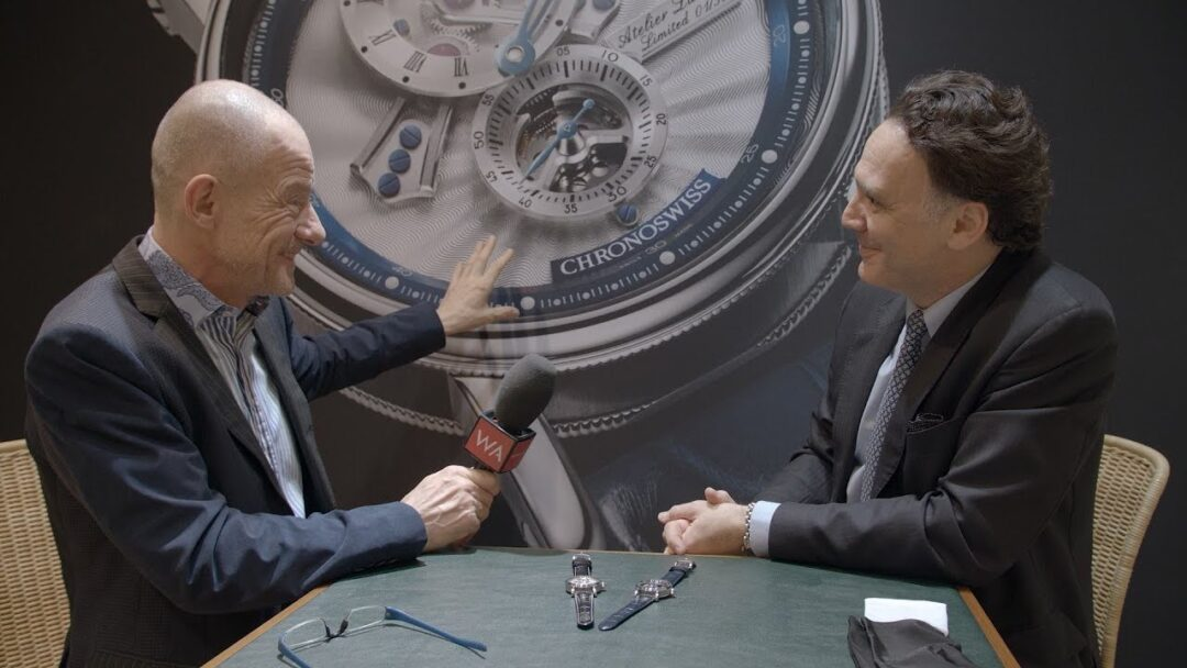 Baselworld 2018: Chronoswiss CEO Oliver Ebstein Interview