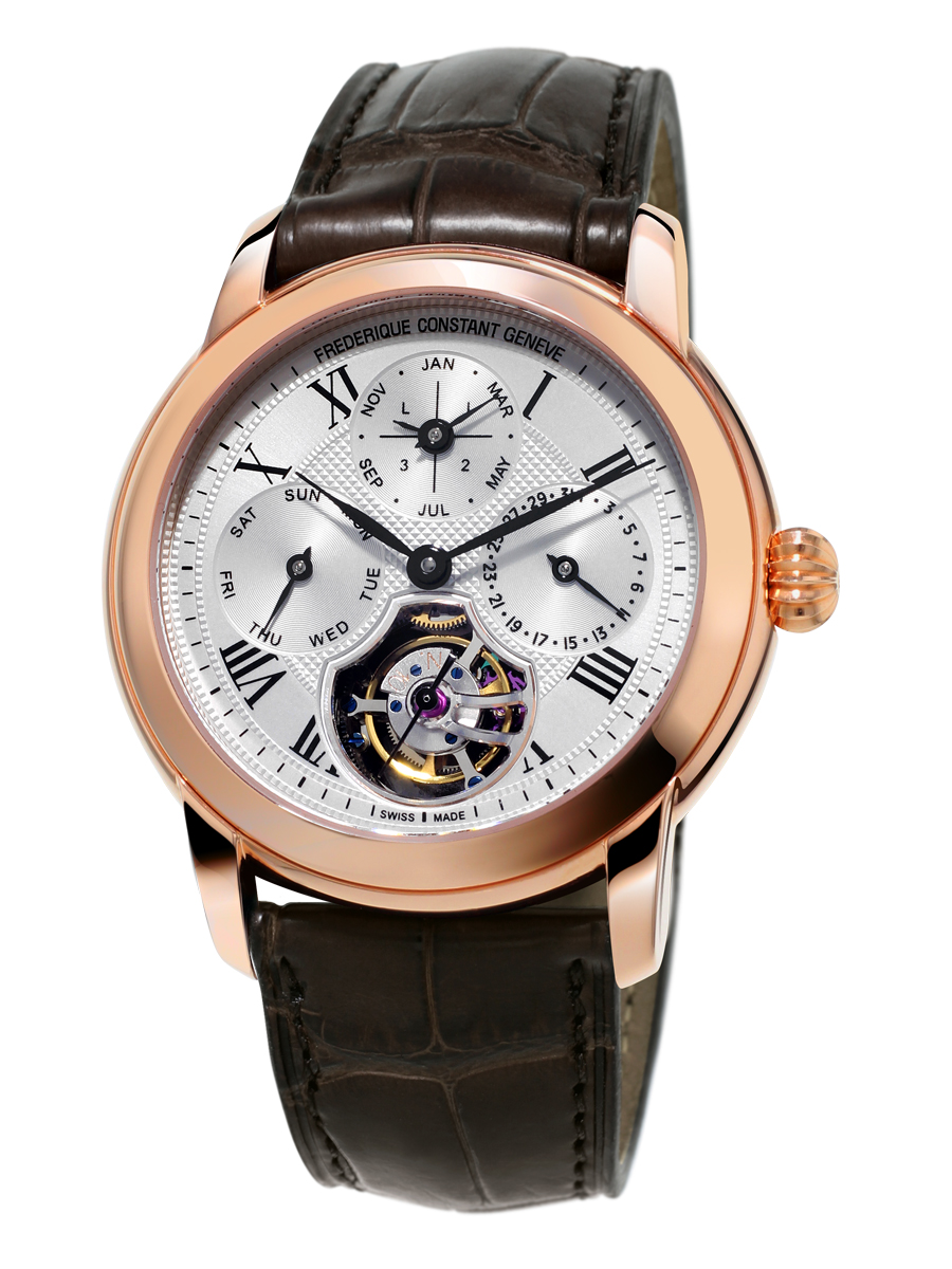 Frederique Constant QP Tourbillon Manufacture Rose gold plated  19'995 CHF/ 19'995 EUR/ 22'995 USD
