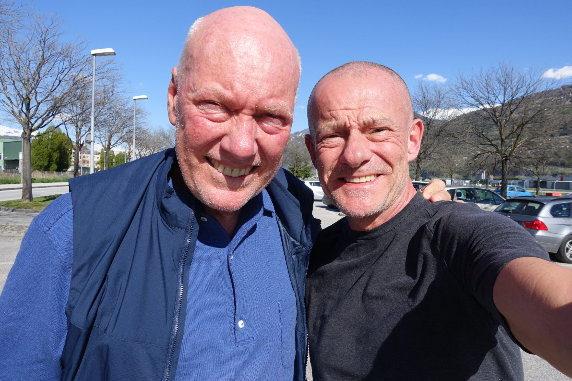 Jean-Claude Biver & Alexander Linz. This is a selfie I took when we met in March this year