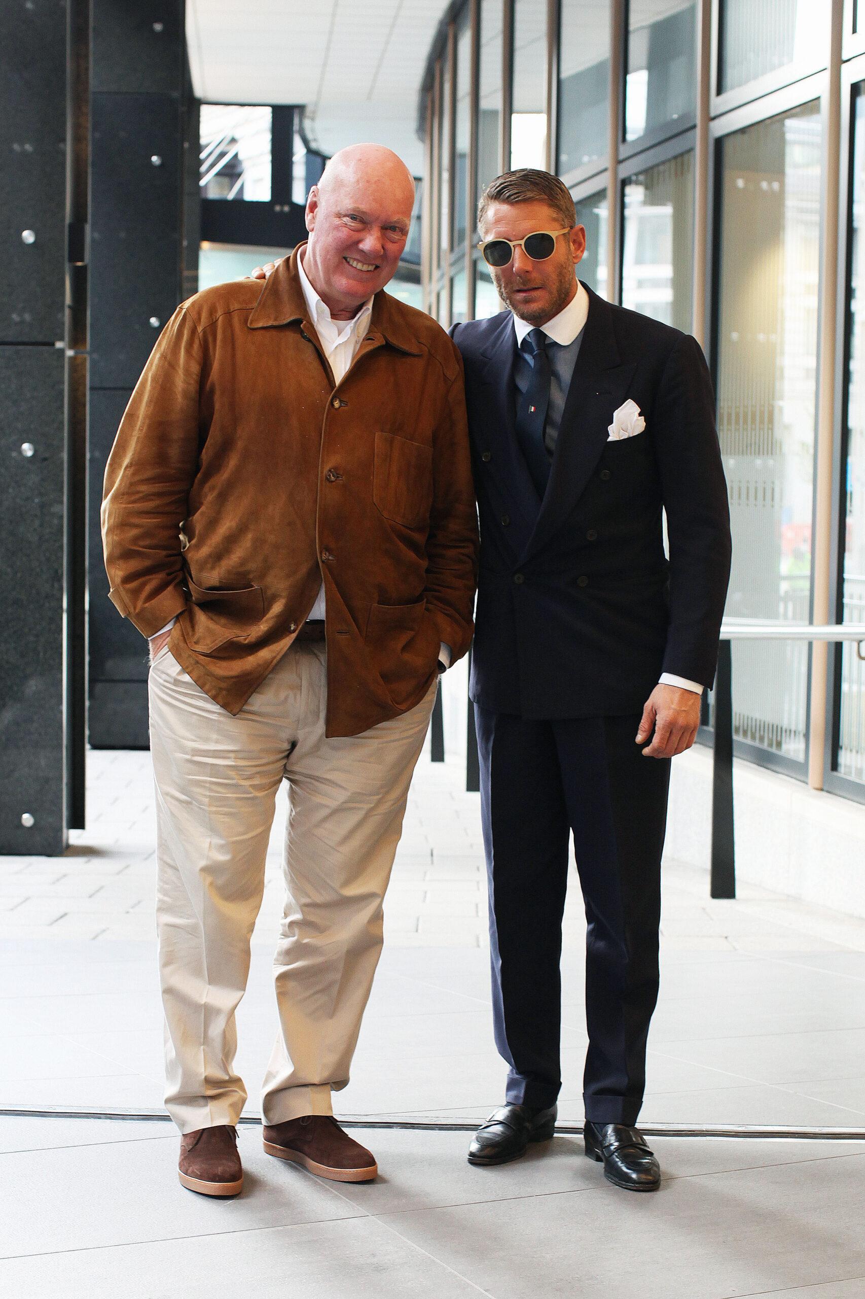 Jean-Claude Biver & Lapo Elkann