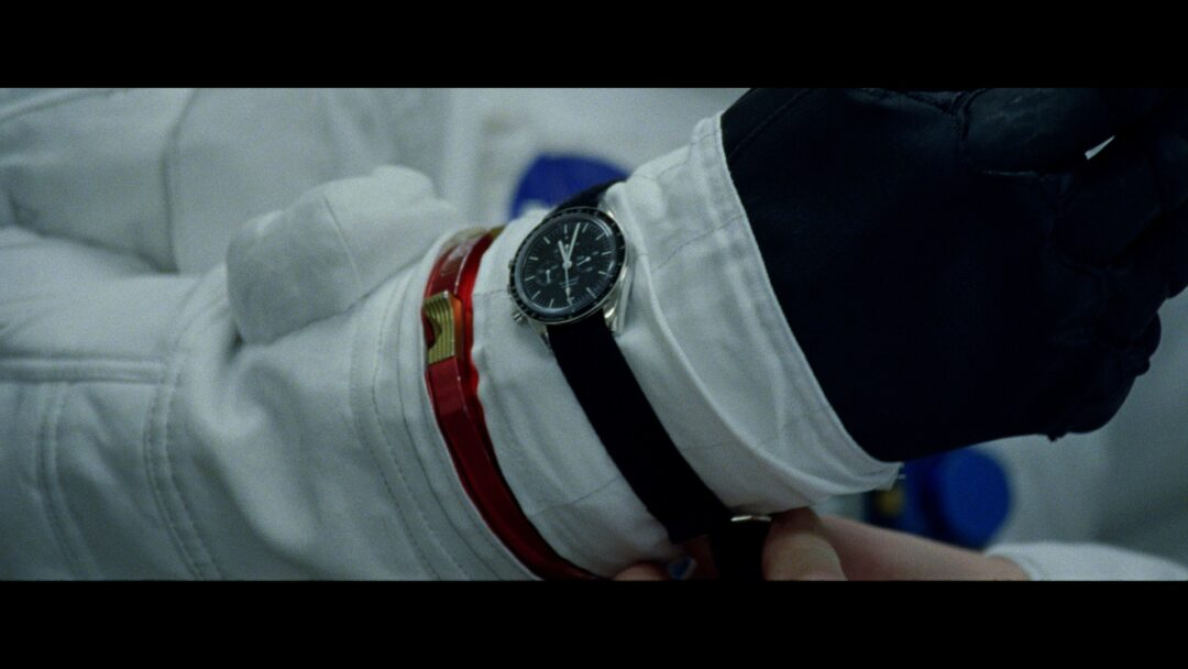 "From the movie ""First Man""... a Speedmaster on the wrist of an astronaut ..."