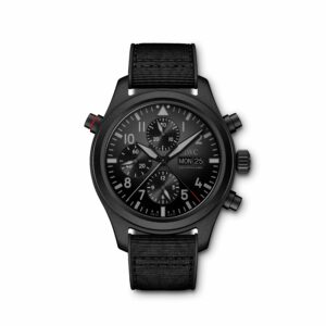 IWC Schaffhausen Pilot's Watch Double Chronograph TOP GUN Ceratanium