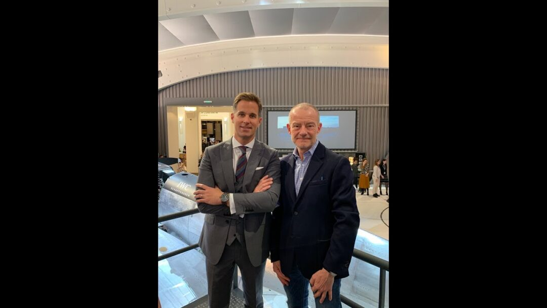 SIHH 2019: Talking watches with IWC Schaffhausen CEO Christoph Grainger-Herr