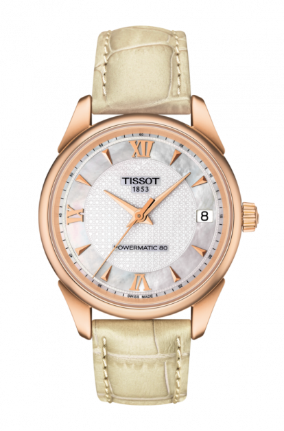 Tissot Vintage Powermatic 80 Lady 33mm 18k Gold (Ref. T920.207.76.118.00)