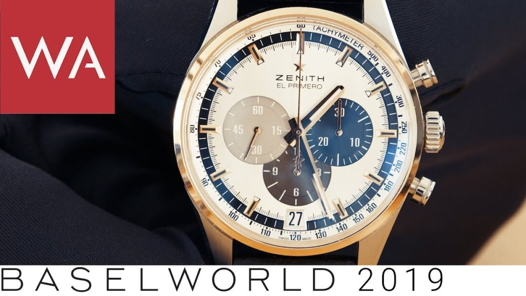 Baselworld 2019: Why the Zenith El Primero calibre survived when the quartz crisis hit Switzerland