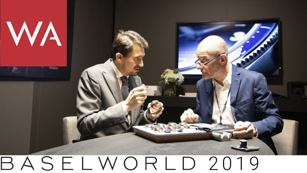 Baselworld 2019: TAG Heuer Autavia Isograph. Talking to Guy Bove Product Director