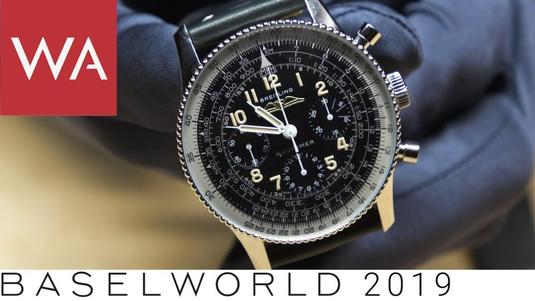 Baselworld 2019: Discover the new Breitling Navitimer, Superocean & Premier watches