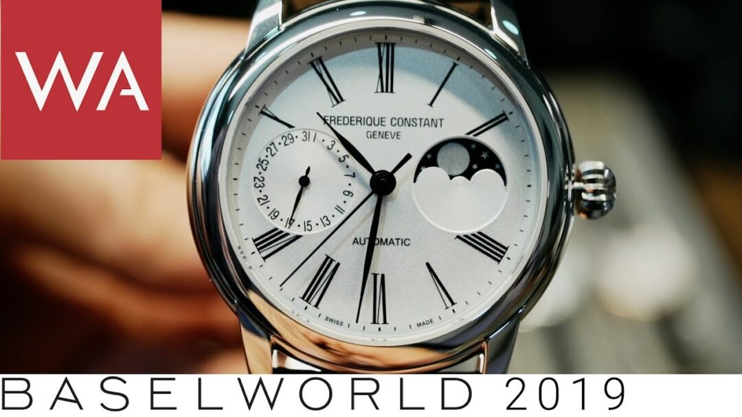 Baselworld 2019: Frederique Constant Hands-on-Video in an unusual setup