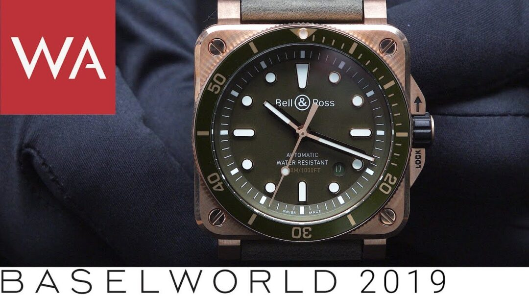 Baselworld 2019: The Bell & Ross novelties presented by Carlos Rosillo