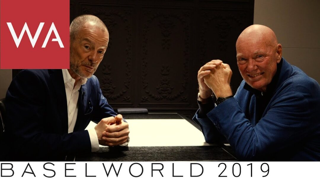Baselworld 2019: Talking to Jean-Claude Biver. Breathtaking! Incredible! Do not miss!