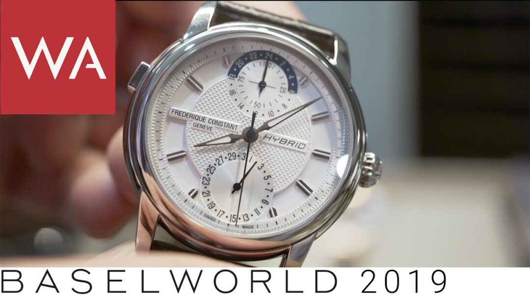 Baselworld 2019: Frederique Constant & Alpina going Hybrid & Smart. A hands-on-video.