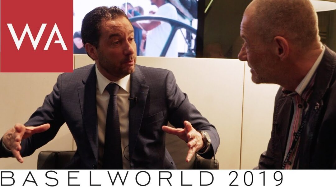 Baselworld 2019: Talking to Zenith CEO Julian Tornare