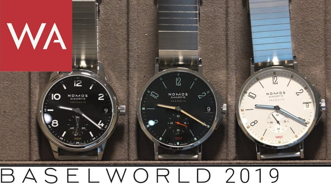 Baselworld 2019: Nomos Glashütte goes Sport. Hands-on-video!