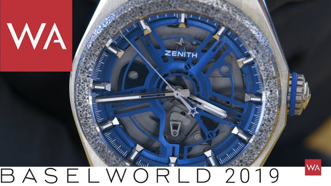 Baselworld 2019: Five new Zenith wristwatches