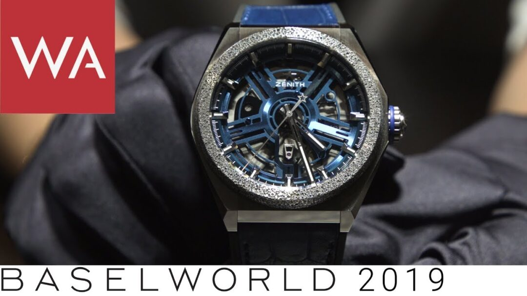 Baselworld 2019: Zenith - hands-on some technically sophisticated novelties