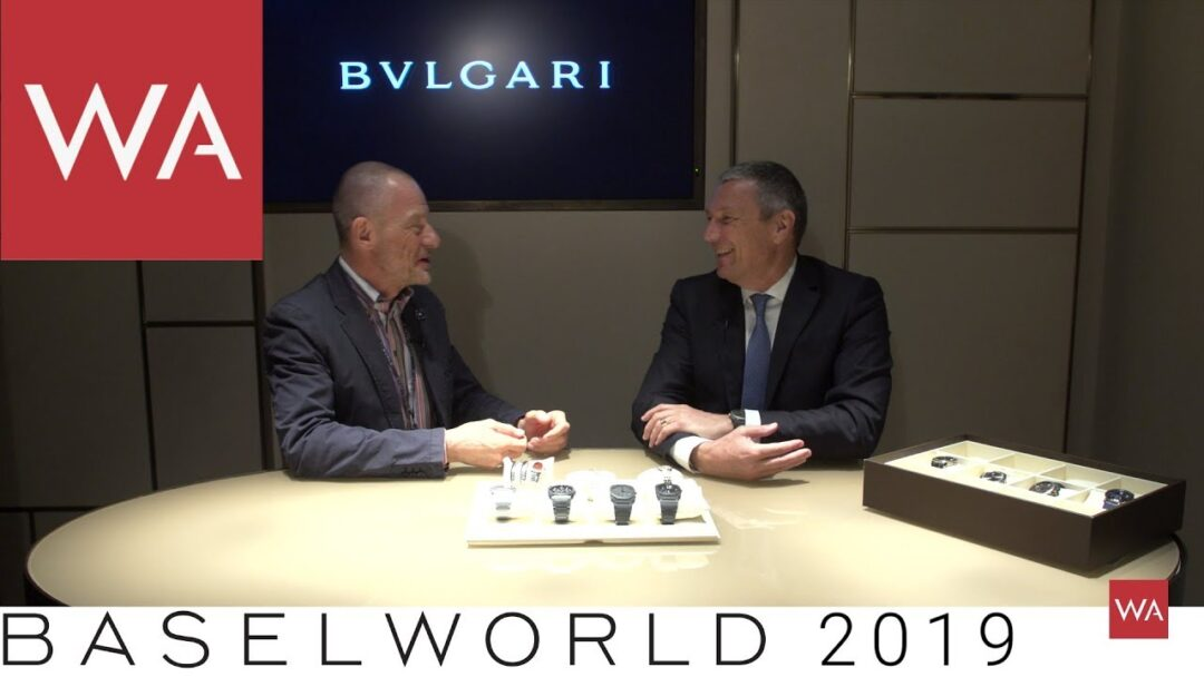 Baselworld 2019: Talking to Jean-Christophe Babin, CEO of Bvlgari