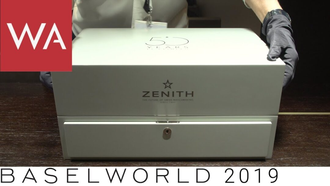 Baselworld 2019: Zenith - 50 Years El Primero - Hands-on the 50 pieces limited Watch Box