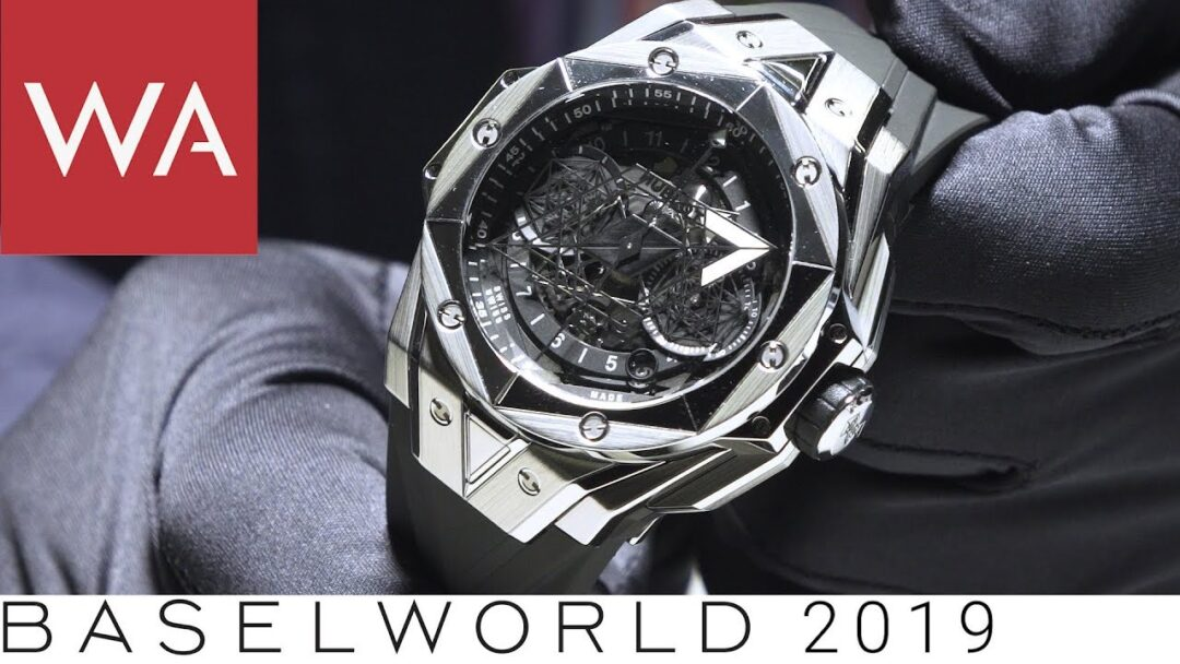 "Baselworld 2019: Hands-on the HUBLOT Big Bang ""Sang Bleu II"" by Maxime Plescia-Buchi"