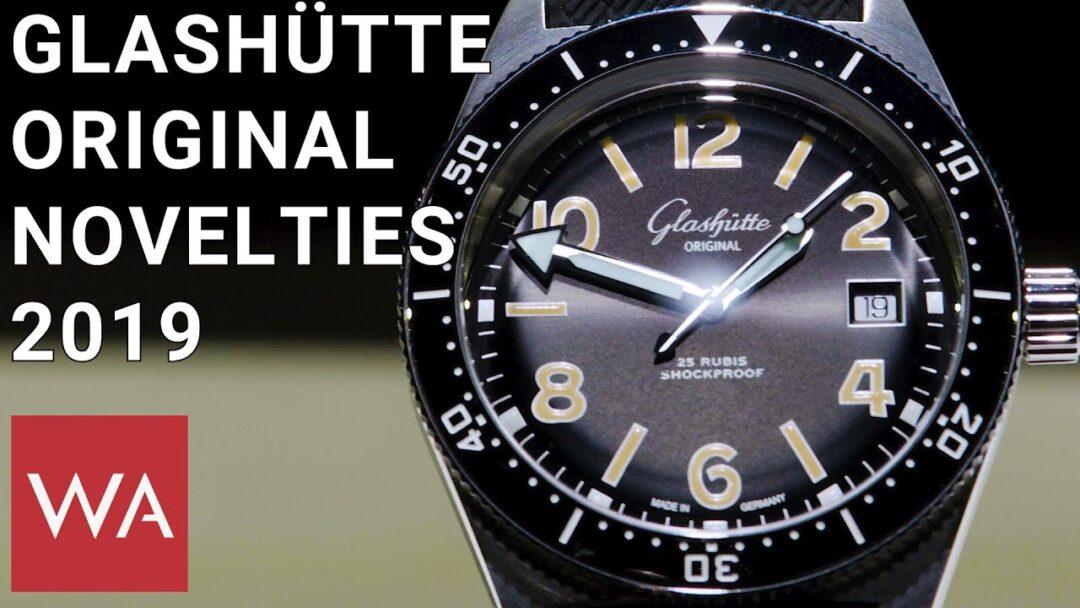 Glashütte Original Watches 2019. Hands-on the cool SeaQ Divers
