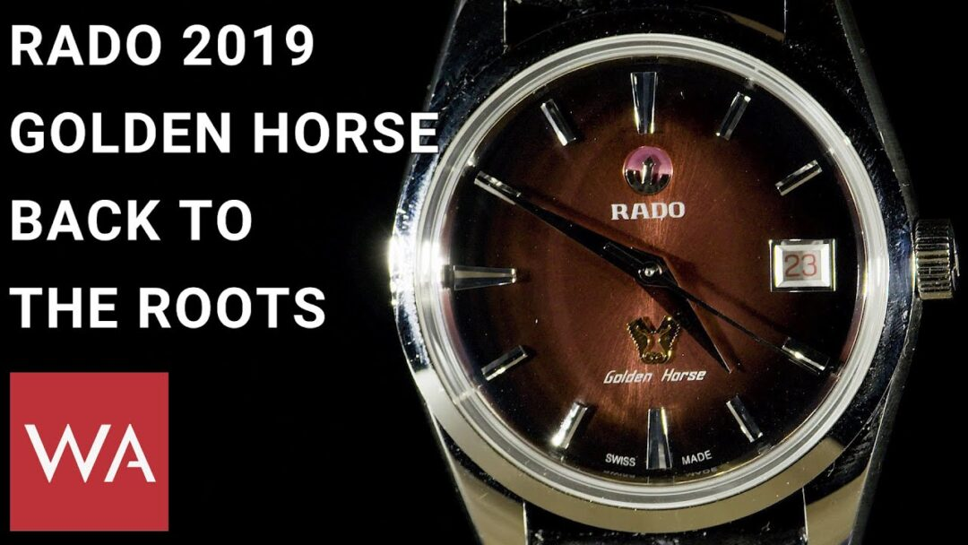 Rado Golden Horse 2019. Hands-on the new watches with Hakim El Kadiri, VP Rado.