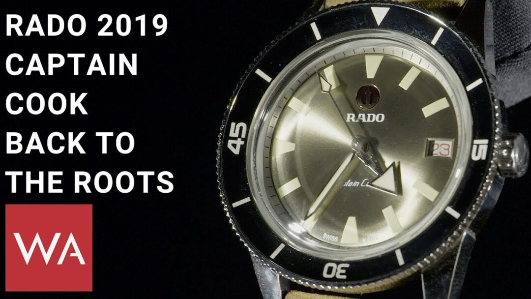 Rado Captain Cook 2019. Hands-on the new watches with Hakim El Kadiri, VP Rado.