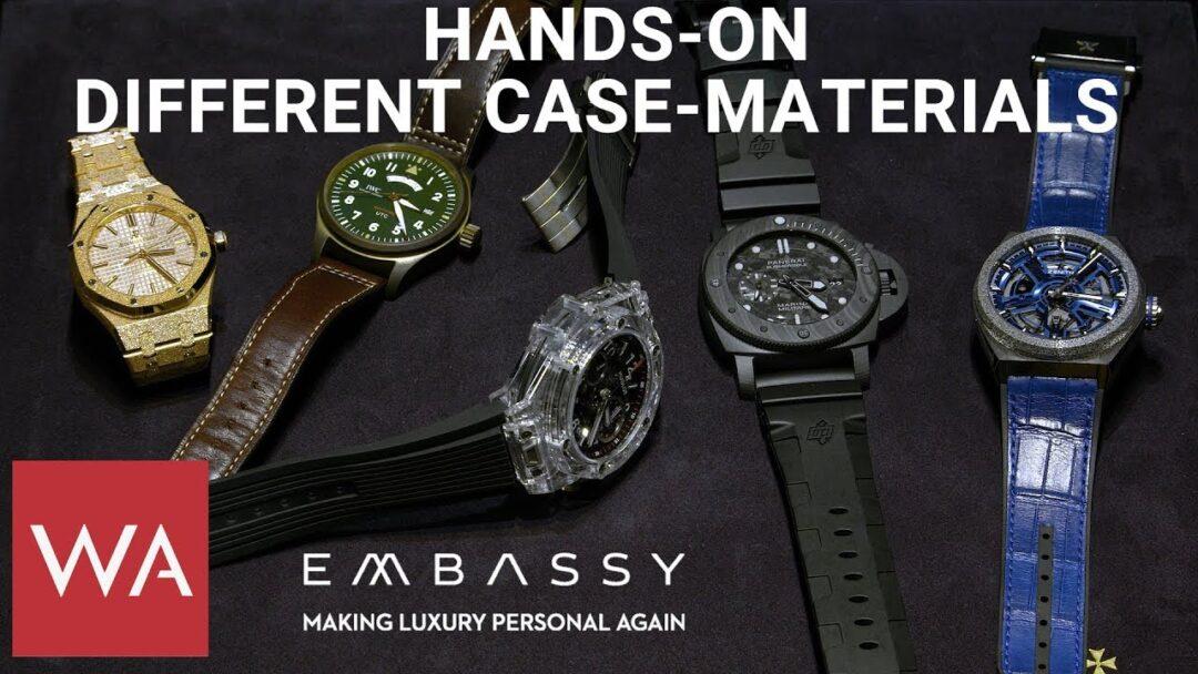 Hands-on: 5 impressive case-materials. Audemars Piguet, IWC, Hublot, Panerai & Zenith.