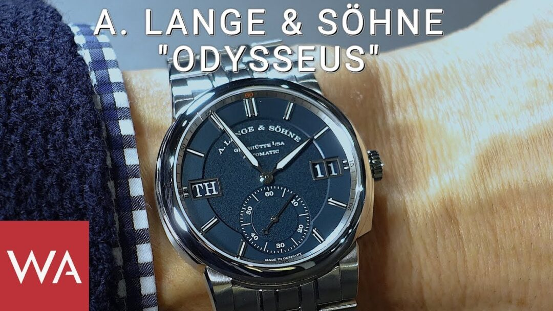 Hands-on: A. Lange & Söhne ODYSSEUS - The ultimate luxury sports watch!