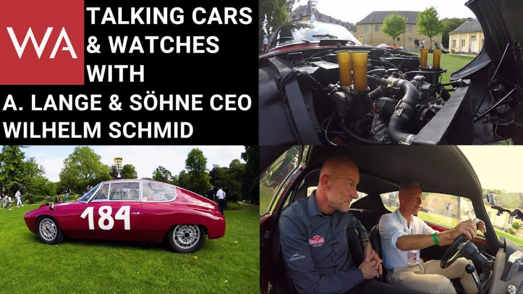 Talking Classic Cars & Watches with A. Lange & Söhne CEO Wilhelm Schmid