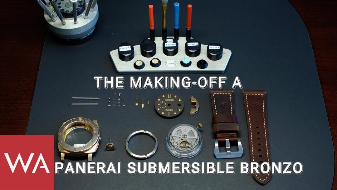 Making-of a ticking icon: PANERAI Submersible Bronzo - 47mm. PAM00968.