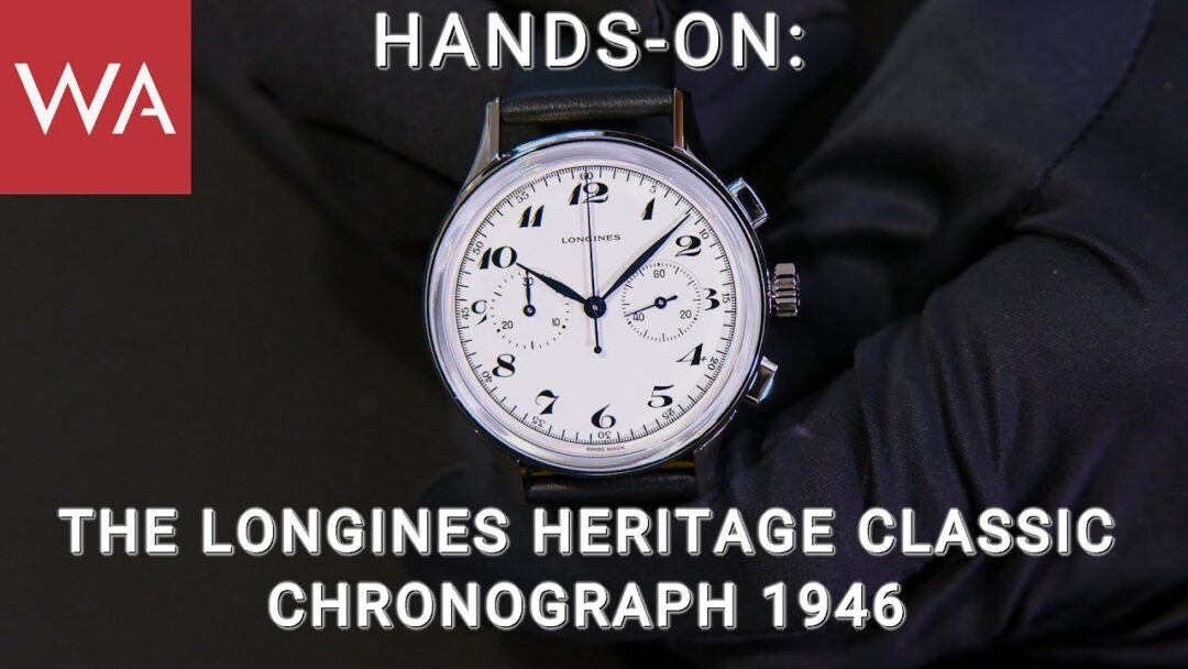 Hands-On: The Longines Heritage Classic Chronograph 1946
