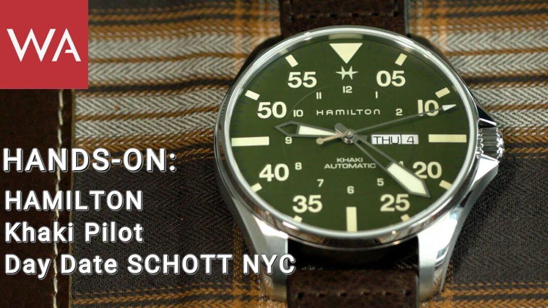 Hands-on: Hamilton Khaki Pilot SCHOTT NYC
