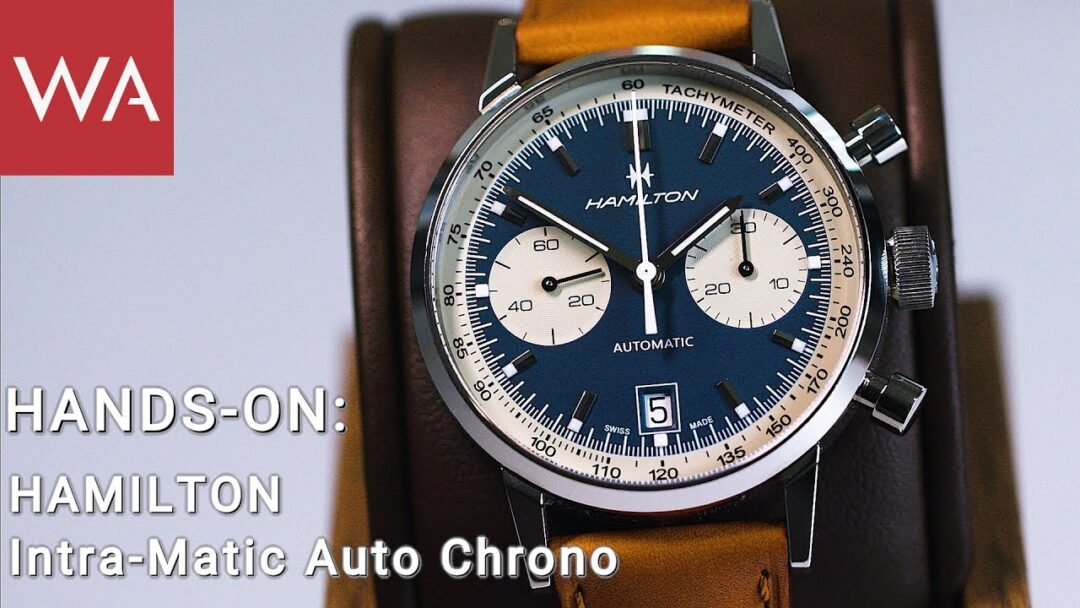 Hands-on Intra-Matic Auto Chrono with Hamilton CEO Sylvain Dolla
