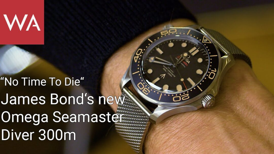 """No Time to Die"" - James Bond's new OMEGA Seamaster Diver 300m"