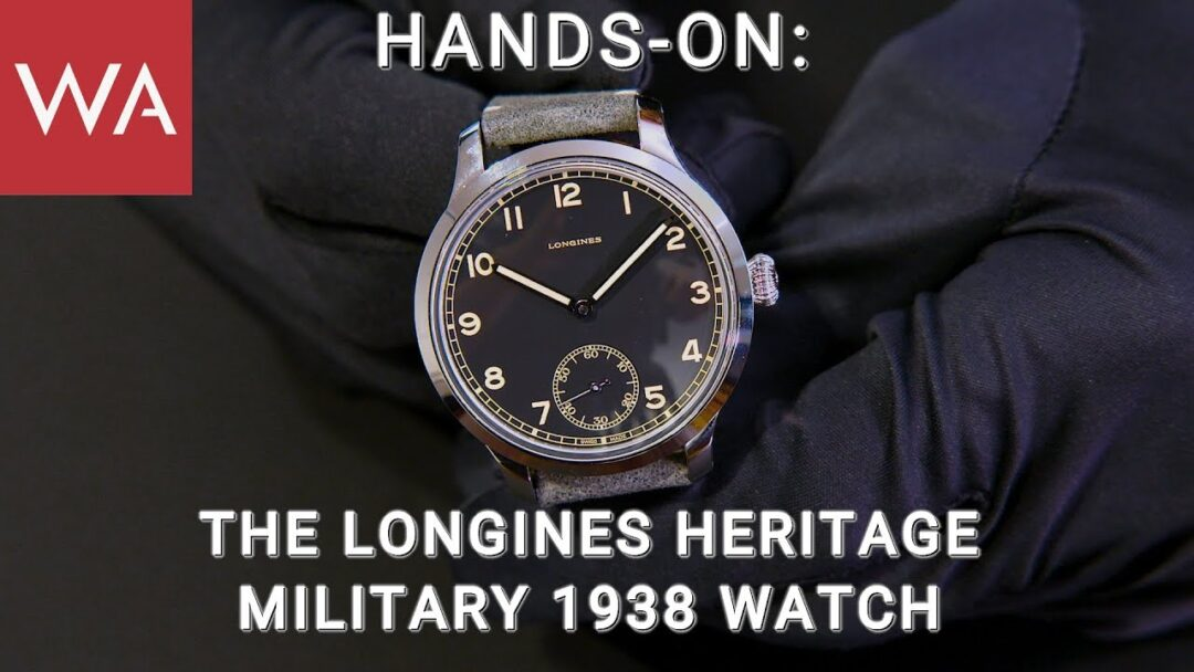Hands-on: The Longines Heritage Military 1938