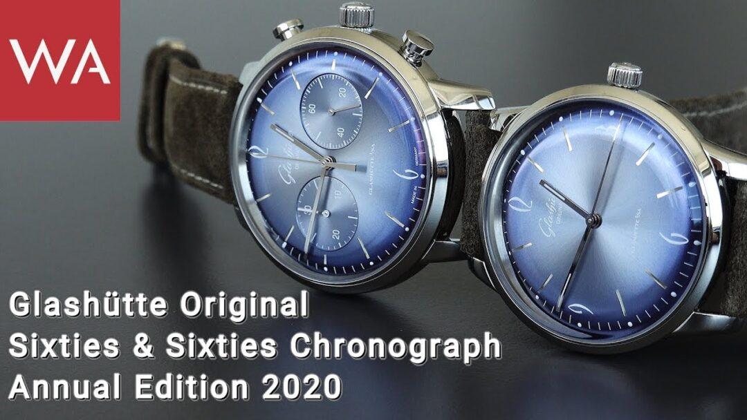 Hands-on: GLASHÜTTE ORIGINAL Sixties & Sixties Chronograph Annual Edition 2020