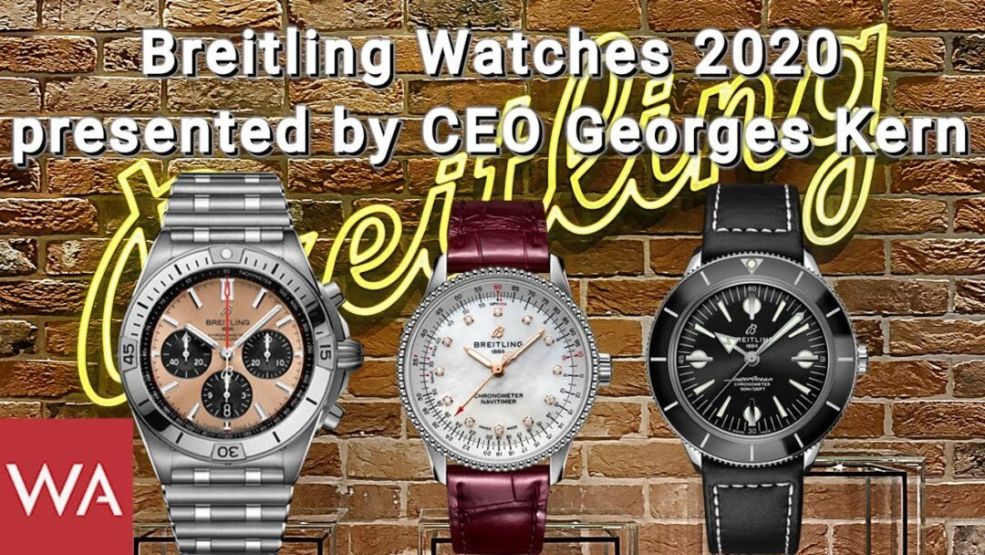 BREITLING Watches 2020 presented by CEO Georges Kern